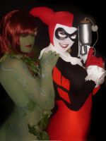 Harley-Ivy by SticthedupScarecrow