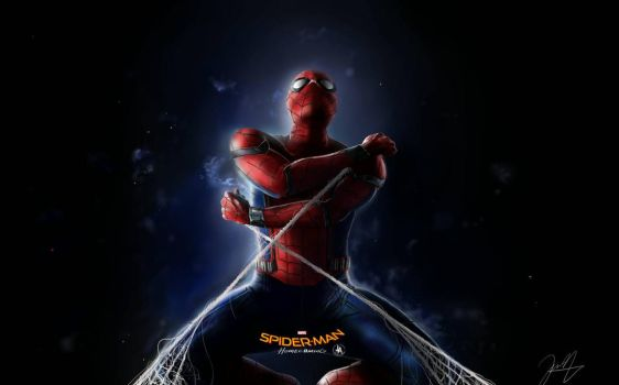 Spiderman Homecoming Poster by jeransome