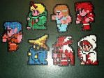 8 Bit Final Fantasy beads by RickBarrs