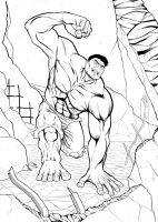 Hulk#1 by laurus-the-outsider