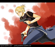 Hawkeye by pink-painkiller
