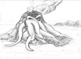 Mount Cthulhu by rockie-squirrel