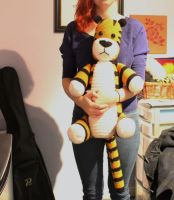 I made a giant Hobbes! by Tessa4244