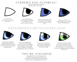 Eye Tutorial by XxCINDERxX