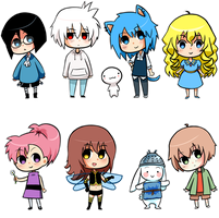 Chibi gifts by Garkarios