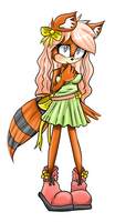 Lilly the racoon by SugarYuyu