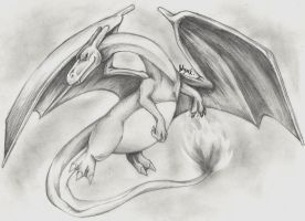 Charizard Sketch by Doctor-Axel