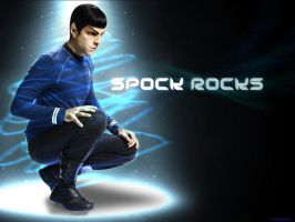 Spock Rocks by v-vendetta