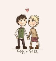 Roy + Riza by rockinrobin