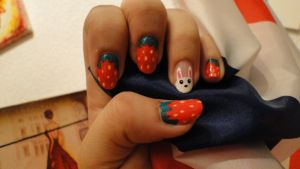 Nail art 3 by niqitaMonster