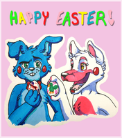 Happy Easter! by kibaandme