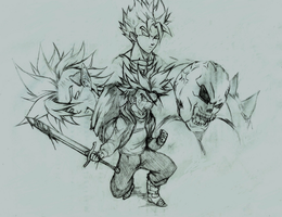 Brave Sword: The birth of a hero by bringerofdeathDBZ