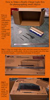 Cheap Light Box How-To by AreteEirene