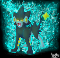 .:Luxray Thunder:. by WolfLinx