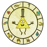 Bill Cipher Wheel by camivf