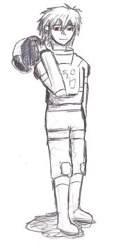 Kaworu in Old Fanshioned Space Suit by Aris9