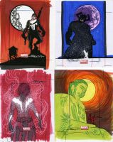 marvel Universe sketch cards14 by TomKellyART