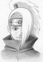 Deidara  Evil Smile by LostAffection