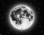 Clock moon by OV-art