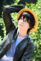 Monkey D. Luffy - Z Movie Outfit No. 2 | V by Wings-chan