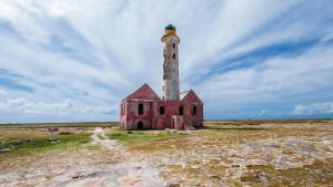 Old Lighthouse - Klein Curacao - Color 16:9version by ssabbath