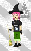 Merlina: The Witch by Mau506SK