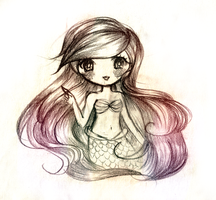 The Little Mermaid by mochatchi