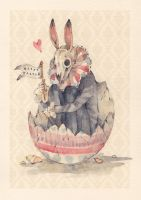 Happy Easter by Loputyn