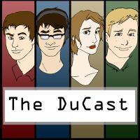 The DuCast Cover Art by RegularFrankyFan