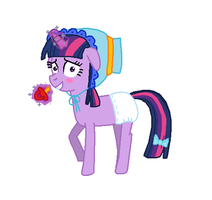 Twilight Sparkle Diaper Costume by Mighty355