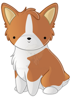 Pembroke Corgi by KelseyKDesigns