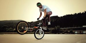 Arek with bmx by shadow5210