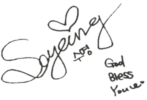 SNSD Sooyoung Signature ~PNG~ by JaslynKpopPngs