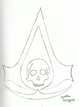 Assassin's Creed IV Symbol by jojomudkip