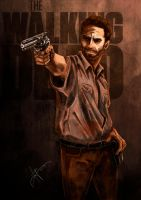 TWD_Rick Grimes by AwyrGreen