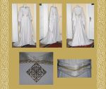 Elaine bridal medieval gown by AFahrbach