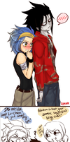 FT.:. Gajevy-Warm Bodies AU by D-eliade
