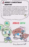 Xmas gifts 2014: Shieldphasetwo by RegularBluejay-girl