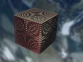 Metal Cube by Undead-Academy