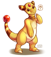 PokeddeXY - Ampharos by Electrical-Socket