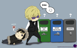Drrr _Recycling_ by AppleFreedom