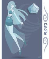 Gem OC: Calcite by ForbiddenDesirers
