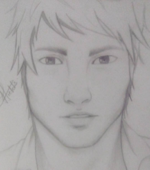 Trying to draw a male by Misticbeauty