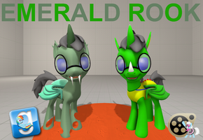 (DL) Emerald Rook by Out-Buck-Pony