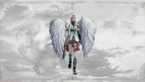 Lightning as an Angel by PoisonIgnorance