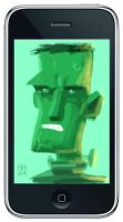 iPhone Painting 1 by OtisFrampton