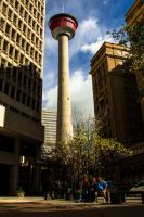 Calgary Tower by KRHPhotography