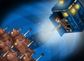 A Trip In the Tardis by Mabelma