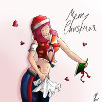 merry christmas by ChrisJRees
