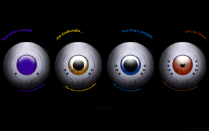 GLaDOS Icons by m337m31nm0n74uk